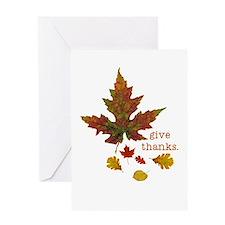 Pretty Thanksgiving Greeting Card