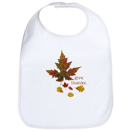 Pretty Thanksgiving Bib