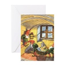 tomte_9_5x7 Greeting Cards