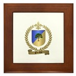 PARADIS Family Crest Framed Tile