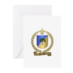 PARADIS Family Crest Greeting Cards (Pk of 10)