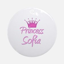 Princess Sofia Ornament (Round)