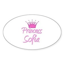 Princess Sofia Oval Decal