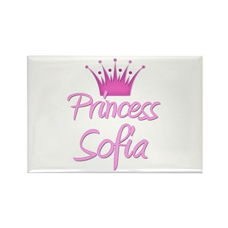 Princess Sofia Rectangle Magnet (10 pack)