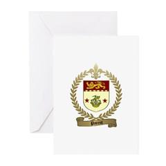 PARENT Family Crest Greeting Cards (Pk of 10)