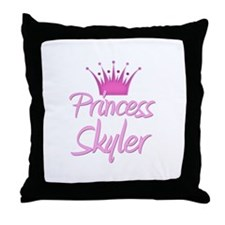 Princess Skyler Throw Pillow