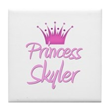 Princess Skyler Tile Coaster