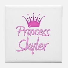 Princess Skyler Tile Coaster