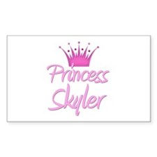 Princess Skyler Rectangle Decal