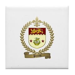 PARENT Family Crest Tile Coaster