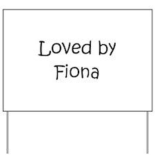 Cool Fiona Yard Sign