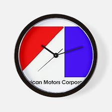 Named AMC Logo Wall Clock
