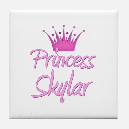 Princess Skylar Tile Coaster