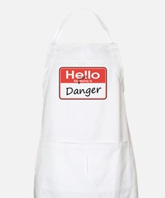 My Middle Name is Danger BBQ Apron