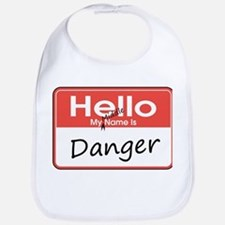 My Middle Name is Danger Bib