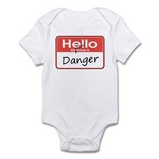 My Middle Name is Danger Infant Bodysuit