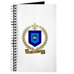 PARENTEAU Family Crest Journal