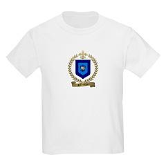 PARENTEAU Family Crest Kids T-Shirt