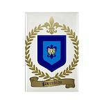 PARENTEAU Family Crest Rectangle Magnet (100 pack)