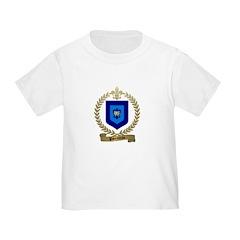 PARENTEAU Family Crest Toddler T-Shirt