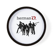 Herman O Wall Clock