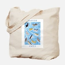 Water Cats Tote Bag
