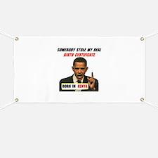 NOT A U.S. CITIZEN Banner