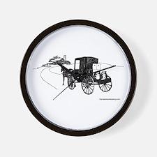 logo sketch Wall Clock