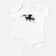 logo sketch Infant Bodysuit