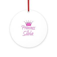 Princess Silvia Ornament (Round)