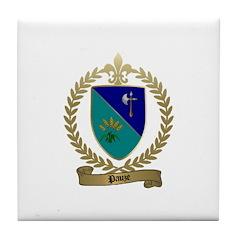 PAUZE Family Crest Tile Coaster
