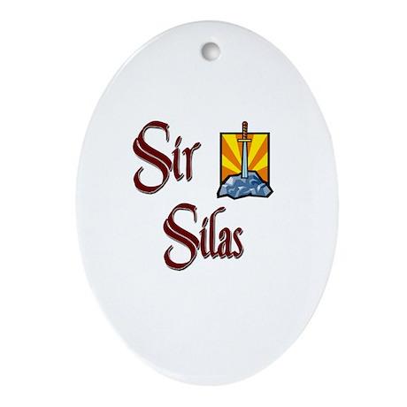 Sir Silas Oval Ornament