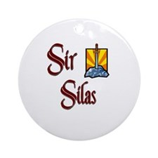 Sir Silas Ornament (Round)