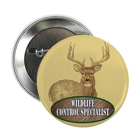 "Wildlife Control Specialist 2.25"" Button (10 pack)"