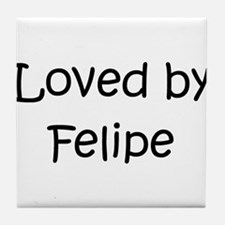 Funny Felipe Tile Coaster