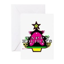 Tappy Holidays For Christmas Greeting Cards (Pk of