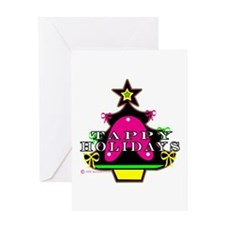 Tappy Holidays For Christmas Greeting Card