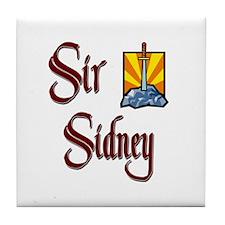 Sir Sidney Tile Coaster