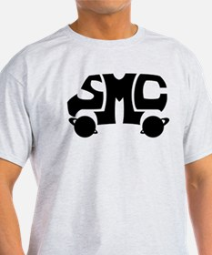 Black SMC Van Logo T-Shirt