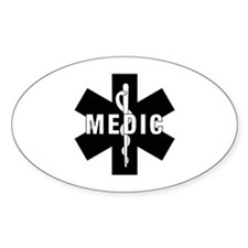 Medic EMS Star Of Life Decal