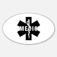Medic EMS Star Of Life Stickers
