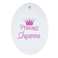 Princess Shyanne Oval Ornament