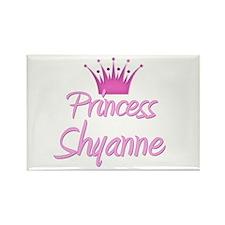 Princess Shyanne Rectangle Magnet