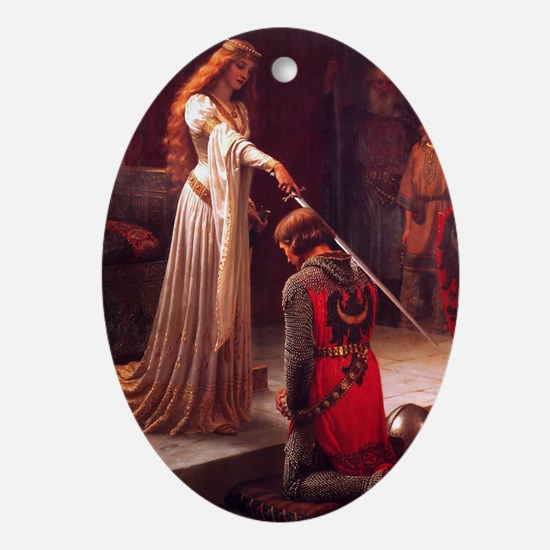 The Accolade Oval Ornament