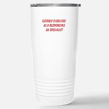 QA Specialist Travel Mug