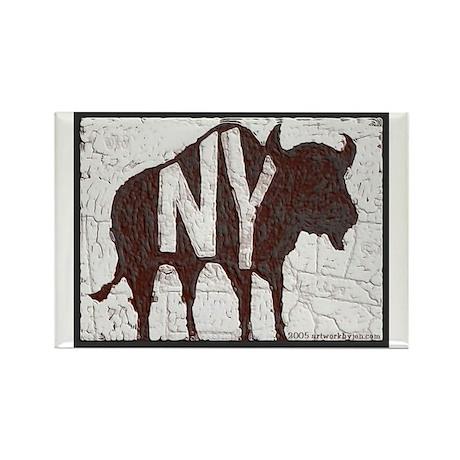 Buffalo, Ny, New York Rectangle Magnet Magnets