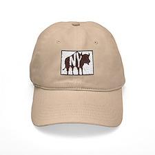 Buffalo, NY design khaki or white Baseball Cap