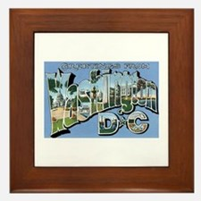 Washington D.C. Framed Tile