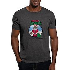 Cute Black santa T-Shirt