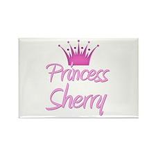 Princess Sherry Rectangle Magnet